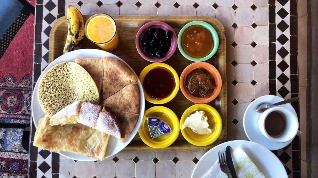Breakfast in Merzouga
