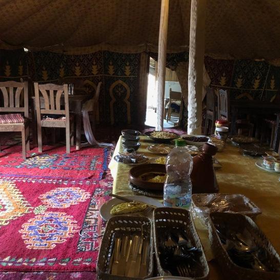 Breakfast buffet by Omar!
