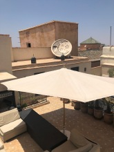 Rooftop at Riad Star.