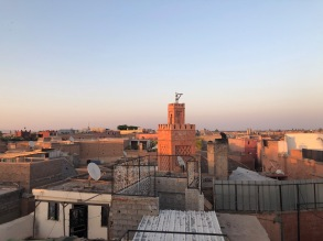 Rooftop views.